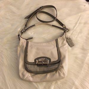 COACH KRISTin Spectator Leather Crossbody bag